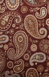 Paisley Traditional Oriental Area Rug Hand-Tufted Wool Living Room Carpet 8'x12'