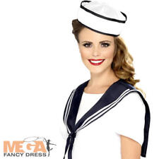 977a4b640c239 Ladies Fancy Dress Instant Sailor Kit Hat   Shoulder Scarf Set by Smiffys