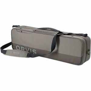NEW 2021 ORVIS LARGE CARRY IT ALL ROD & REEL CASE IN SAND -- FREE US SHIPPING