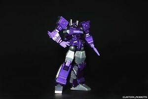 Transformers custom robots revoltech shockwave