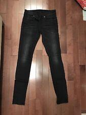 R13 Dark Grey Skinny Jeans Size 26