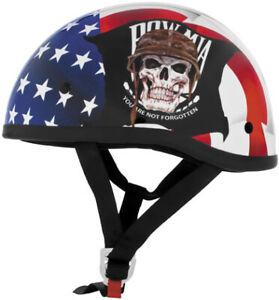 Skid Lid Helmets Original POW MIA Helmet Motorcycle Street Bike