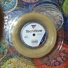 Tecnifibre NRG2 16 Gauge 1.32mm 660' 200m Tennis String Reel Natural Free Grip!