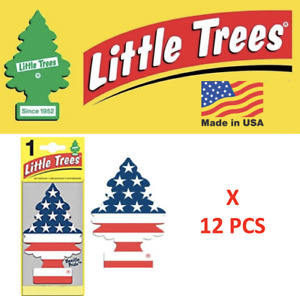 Vanilla Pride Freshener 10945 Little Trees MADE IN USA Pack of 12