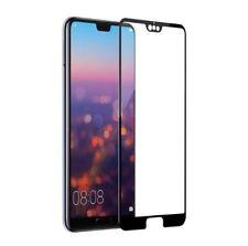 2x Huawei P20 PRO - Panzerfolie Full Cover 3D Displayfolie Schwarz Schutzglas
