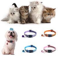 Collier tête de chat de la boucle de la sécurité chat chaton mode multicolore
