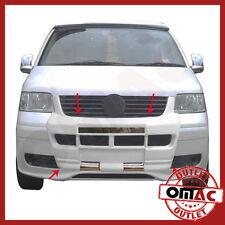 VW T5 2003-2010 Bodykit Front  Stoßstange Frontschürze Bodyguard Wiße