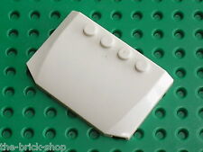Capot LEGO White wedge ref 52031 / Set 8037 5971 7888 4999 7699 7636 7990 7890..