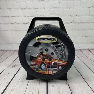 Mattel Matchbox Car Storage Carrying Case Black Tire Tara Toy