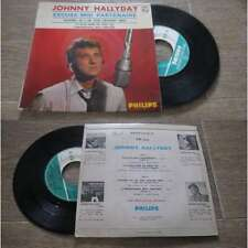 JOHNNY HALLYDAY - Excuse Moi Partenaire Rare French EP Sixties Pop Beatles Cover