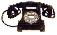 Sizzix Bigz Vintage Telephone die #657835 Retail $19.99 Tim Holtz Alterations!!