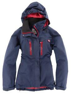 Helly Hansen Damen Jacke Gr.L (DE 40) Tech Protection Waterproof Blau 113180
