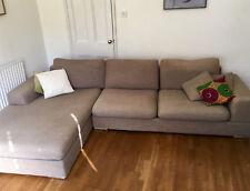 Dwell Verona Left Hand Corner Sofa - Mocha