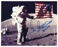 Gene Cernan Apollo 17 Moon Walker Reprint Signed 8x10 Photo