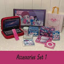 ** LPS Littlest Pet Shop Accessories Food Computer + More Set - MUST SEE!! **