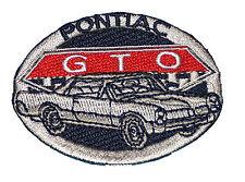 A665 Parche Rockabilly Los años 50 Gang Rock EMo US Car Pontiac GTO Veterano