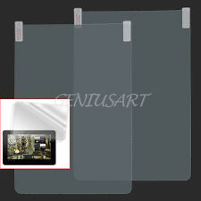 "2x 10"" inch Android Tablet PC Screen Protector Cover Shield + Free Cloths ge9y"