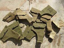 ORIGINALE wk2 British Army rivoltella Custodia Holster Webley Pouch .38 webbing SAS