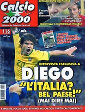 Calcio 2000.Diego Ribas Da Cunha,Vincenzo Montella,Marco Di Vaio,Bruno Bolchi,ii