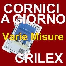 CORNICE A GIORNO IN CRILEX ANTINFORTUNISTICO - PORTAFOTO PLEXIGLASS VARIE MISURE