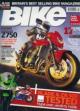 Bike Feb 04 Z750 Hornet XB12S Ducati M1000 XL1000 R1150GS