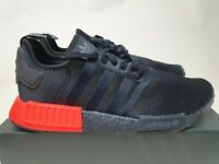 Adidas NMD R1 'Core Black Solar Red' New (US13) boost superstar air ultra max