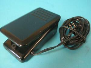 SINGER SEWING MACHINE FOOT PEDAL 3-PRONG BLACK YDK MODEL YC-50 819J 4.G5