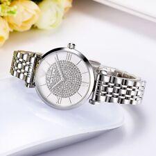 ••• Emporio Armani AR1925 Damennuhr Armband Analog Silber Kristall 32mm Neu •••