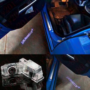 2x CREE LED Door Step Courtesy Shadow Laser Light For Volvo V40 V60 S60 S80 XC90