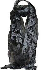 Écharpes et châles étoles noir à motif Floral pour femme