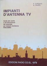 Impianti d'antenna TV: guida alla scelta e all'utilizzazione del materiale per i