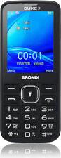 "Brondi Telefono Cellulare Dual SIM 2,8"" 1,3 Mpx GPRS, GSM WAP Nero - Duke"