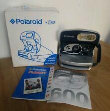 Cámara instantánea Polaroid P 600 USA 600 películas y probado en caja con instrucciones gwc