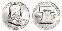 1953-D Franklin Half Dollar Brilliant Uncirculated- BU