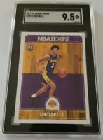 2017-18 Panini Hoops Lonzo Ball Rookie Card #252 Graded SGC 9.5 Gem Mint