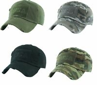 Kbethos Tactical Operator USA Hat Special Forces Army Military Cap - Pick Color