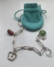 Tiffany & Co 925 Sterling Silver Charm Elsa Peretti Bracelet RRP £1,450.00