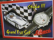 "Schuco Studio lll Mercedes-Benz W196 Stromlinie ""Grand Prix Set with Watch"" (JS)"
