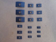 18 EMBLEM RETAINERS-FOR PACKARD NASH STUDEBAKER AMERICAN MOTOR CORVAIR EDSEL AMC