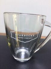Starbucks Coffee Mug - Clear Glass
