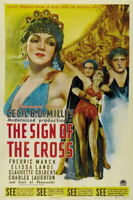 132943 The Sign of the Cross Fredric March Decor LAMINATED POSTER DE