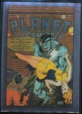 1995 Golden Age of Comics Trading Card #28 Planet Comics #13