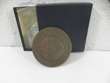 MEDAILLE UNIVERSITAS BURGUNDIAE CONDITA ANNO 1722  Dijon A. GUEMEN bronze 71mm
