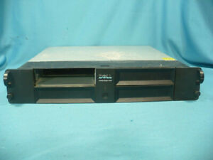 """Dell Powervault 114X 2U Rackmount LTO Tape Drive 2 /4 Bay Chassis 5.25"""" HH FH"""