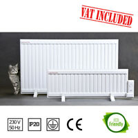 1250W Oil Filled Electric Radiator, Heater. Wall Mounted or Portable. Thermostat
