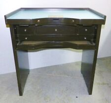 Jewelers Bench Jewelry Workbench for Watch Jewelry Making Bench The Merlot Bench