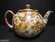 1 heron cross pottery summer meadow rose chintz anglais 3 tasse théière ou 2 tasses