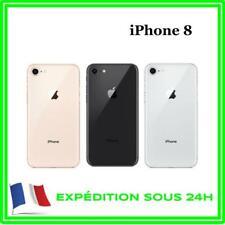 VITRE FA?ADE CAPOT CACHE ARRIèRE CACHE BATTERIE POUR IPHONE 8 NOIR / BLANC / OR