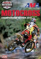 AMA Pro Racing Motocross Championship - Official review 2010 (New 2 DVD set)