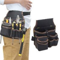 Electrician Tool Bag Waist Pocket Pouch Screwdriver Belt Storage Case Organizer
